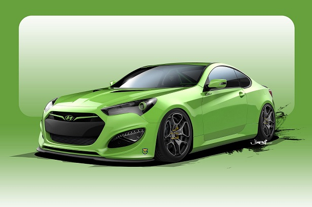 PowerPro Ambassador Neil Tjin Partners with Hyundai for 2015 SEMA Vehicle