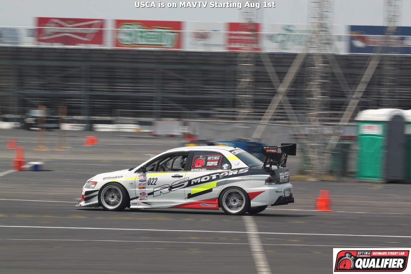 2014 OUSCI Preview- Brandon Ranvek's 2006 Mitsubishi Evo RS