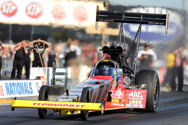 Chip Foose Puts His Mark on OPTIMA-sponsored Top Fuel Dragster