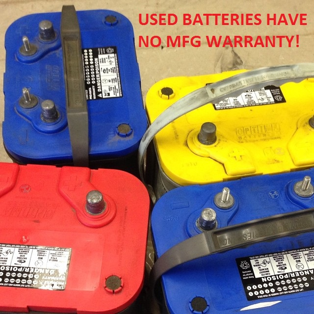 Is Buying Used Batteries a Good Idea?