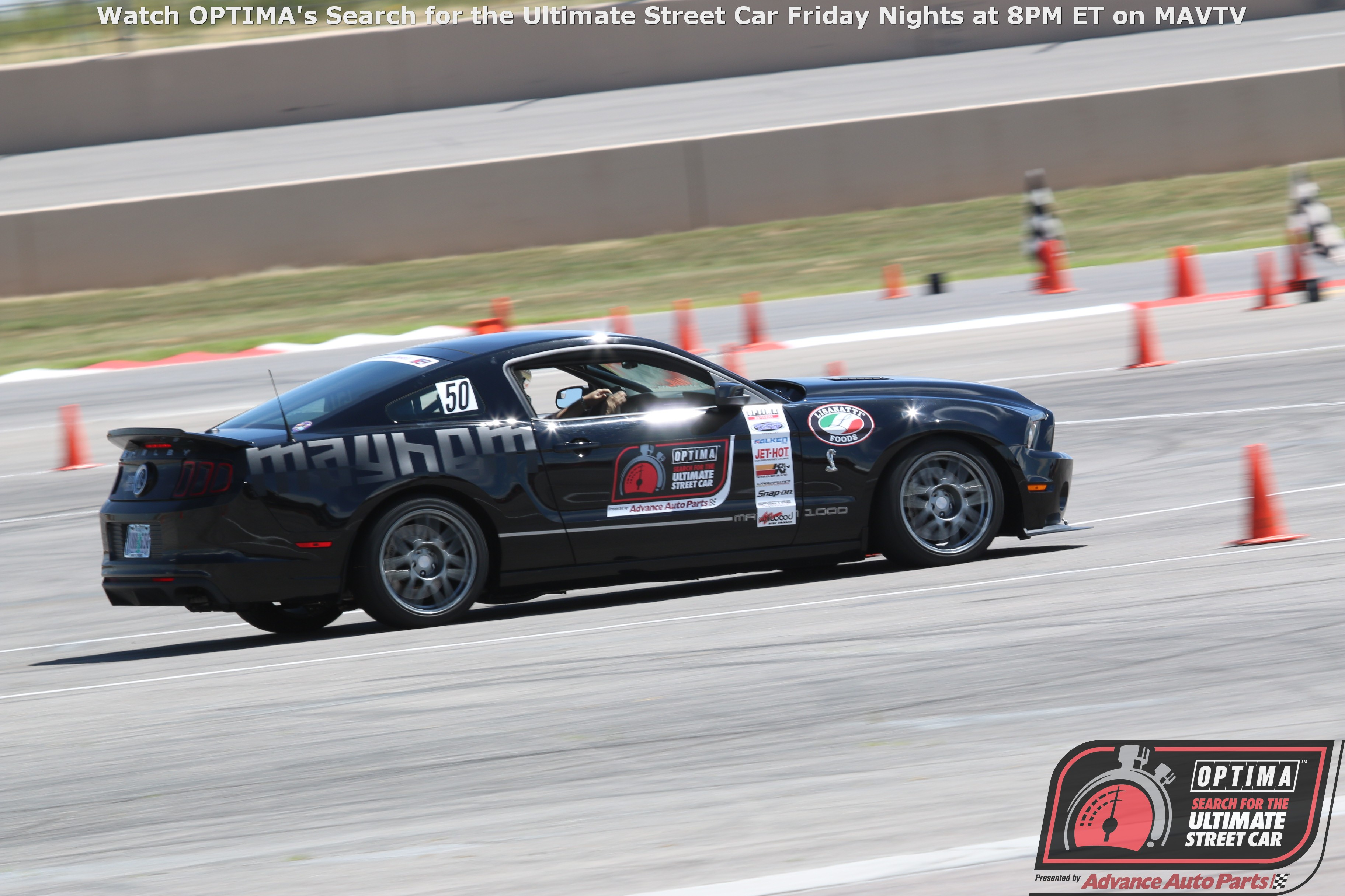 There is No Quit in Ryan Volk's Mustang (or the rest of the