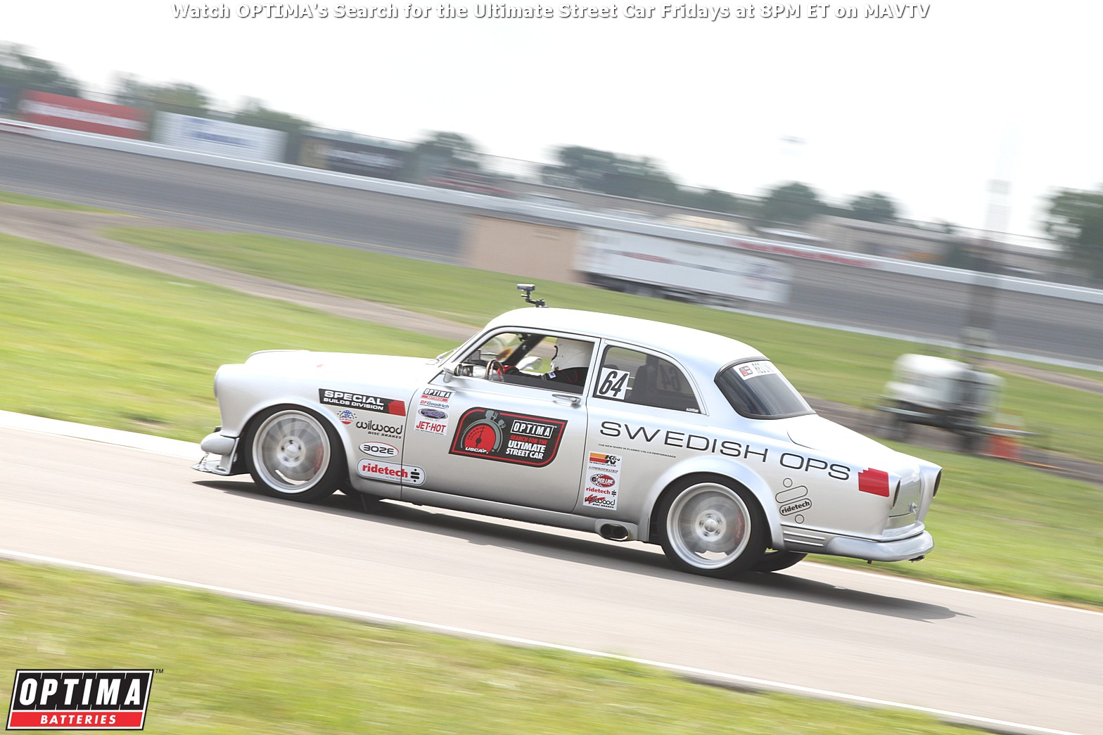 2014 OUSCI Preview- Robert Jackson's 1967 Volvo Amazon