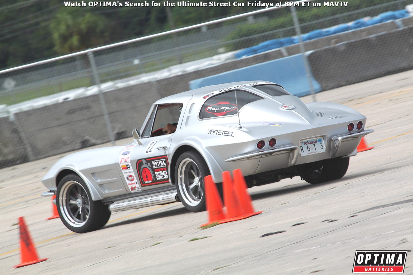 2014 OUSCI Preview- Jeff Montgomery's 1963 Chevrolet Corvette